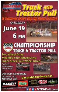 Truck and Tractor Pull @ Dacotah Speedway