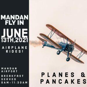 Planes & Pancakes @ Mandan Regional Airport - Lawler Field